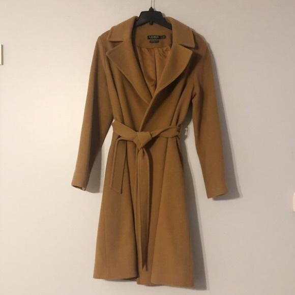 138518ec8c8a0 Lauren Ralph Lauren Jackets   Blazers - Lauren by Ralph Lauren Wool Blend  Wrap Coat